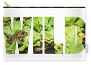 Green Frog In A Wetland Carry-all Pouch