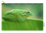 Green Frog Whitelips Carry-all Pouch