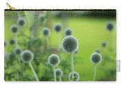 Green Globe Thistles Carry-all Pouch