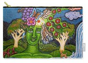 Green Goddesswith Waterfall2 Carry-all Pouch