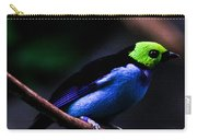 Green Headed Bird Carry-all Pouch