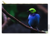 Green Headed Bird Profile Carry-all Pouch