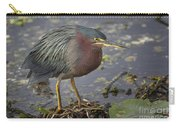 Green Heron 52 Carry-all Pouch