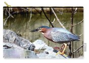 Green Heron . 7d614 Carry-all Pouch