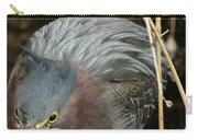 Green Heron Hunting Carry-all Pouch