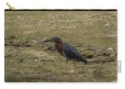 Green Heron In Central Texas Carry-all Pouch