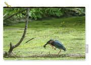 Green Heron Lunch Carry-all Pouch