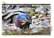Green Heron Male Carry-all Pouch