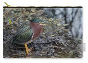 Green Heron Patience Carry-all Pouch