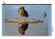 Green Heron Preening Carry-all Pouch