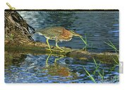 Green Heron Prowl Carry-all Pouch