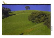 Green Hill With Poppies Carry-all Pouch