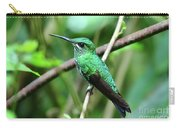 Green Crowned Brilliant Hummingbird Carry-all Pouch