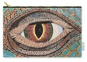 Green Iguana Eye Carry-all Pouch