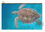 Green In Blue Carry-all Pouch