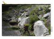 Green In Rock Garden Carry-all Pouch
