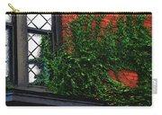 Green Ivy Garnet Brick Carry-all Pouch