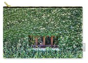 Green Ivy Window  Carry-all Pouch
