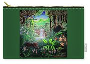 Green Jewel Jungle Carry-all Pouch