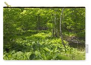Green Landscape Of Summer Foliage Carry-all Pouch