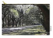 Green Lane With Live Oaks Carry-all Pouch