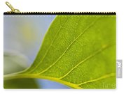 Green Leaf Backlit  Carry-all Pouch