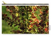 Green Leaf Red Leaf Carry-all Pouch