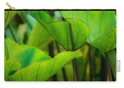 Green Leaves At Cantigny Carry-all Pouch