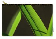 Green Leaves In Sunlight Carry-all Pouch