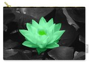 Green Lily Blossom Carry-all Pouch