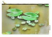 Green Lotus Leaf In The Lake Carry-all Pouch