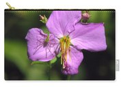 Green Lynx Spider On Meadow Beauty Carry-all Pouch