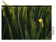 Green Marsh Grass At Sunrise On Lake Cassidy  Carry-all Pouch
