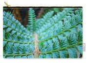 Green Nature Forest Fern Art Print Baslee Troutman  Carry-all Pouch
