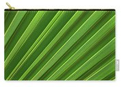 Green Palm Leaf Carry-all Pouch