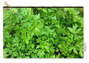 Green Parsley 1 Carry-all Pouch
