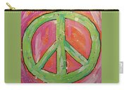 Green Peace Carry-all Pouch