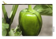 Green Pepper Carry-all Pouch