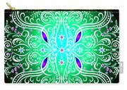 Green Piece Mandala Carry-all Pouch