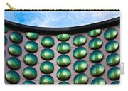 Green Polka-dot Curve Carry-all Pouch