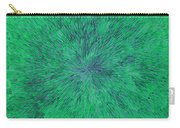 Green Radation With Violet  Carry-all Pouch