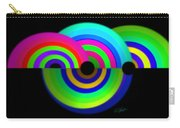 Green Rainbow Carry-all Pouch