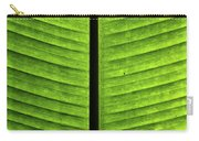 Green Ribs Carry-all Pouch