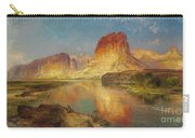 Green River Of Wyoming Carry-all Pouch by Thomas Moran