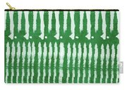 Green Shibori 1- Art By Linda Woods Carry-all Pouch