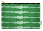 Green Shibori 3- Art By Linda Woods Carry-all Pouch