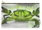 Green Shore Crab Carry-all Pouch