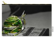 Green Snail Carry-all Pouch