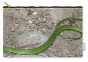 Green Snake Carry-all Pouch