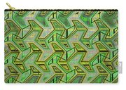 Green Steps Abstract Carry-all Pouch